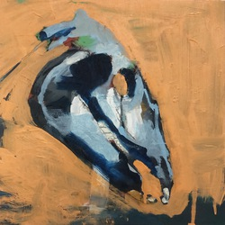 Comanche (armature), Oil on Panel,