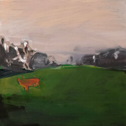 Prospect Park, Oil on Canvas,